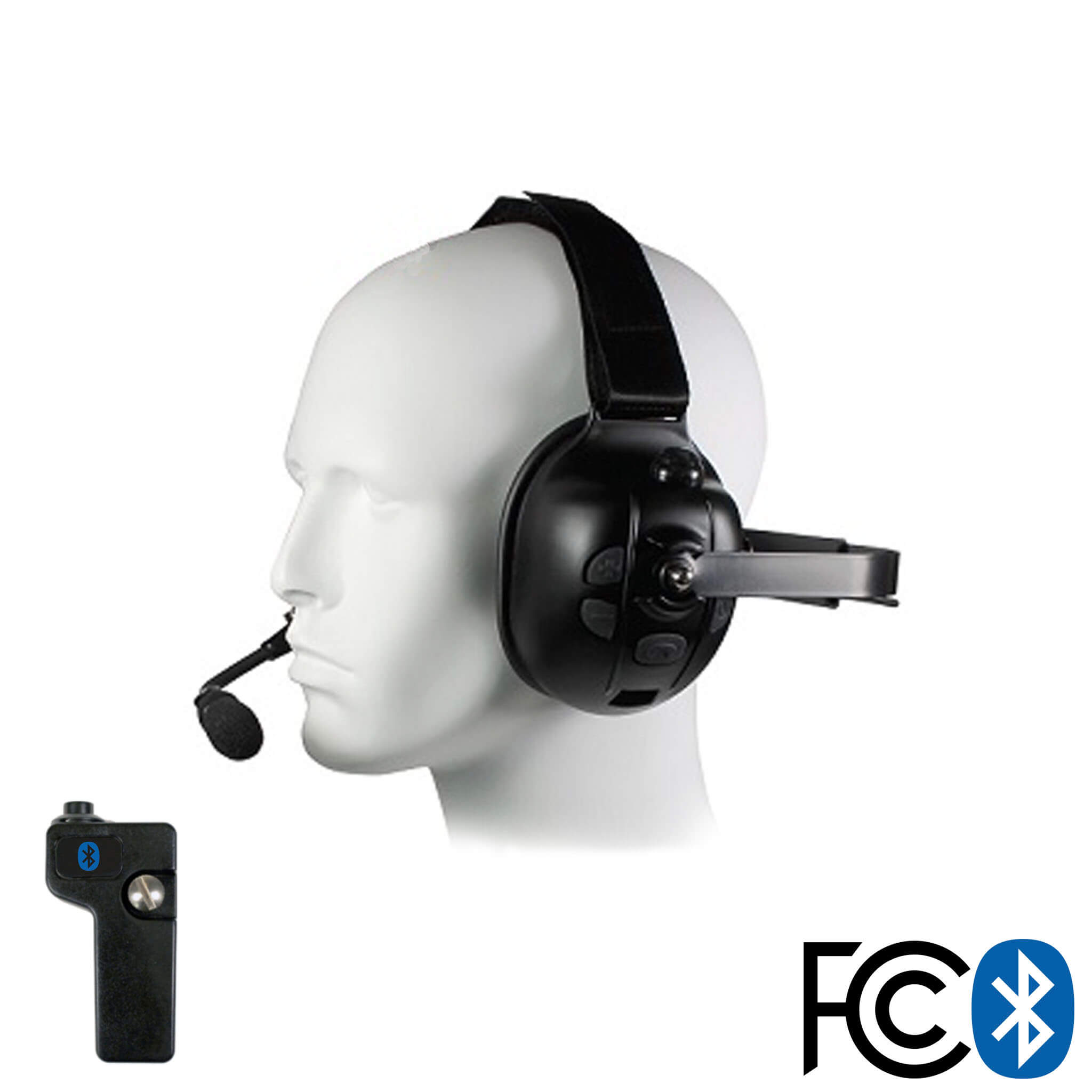 Bluetooth Headset Radio Adapter Kit For Racing Other Applications Comm Gear Supply