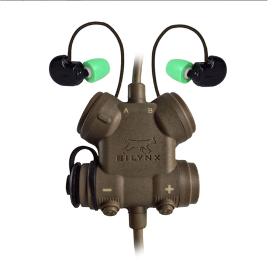 Silynx: CLARUS Tactical In-Ear Comms System IN0007+CA0117-10 / CLAR-T-N-002 For Motorola APX900, APX1000, APX2000, APX3000, APX4000, APX5000 APX6000/LI/XE APX7000/L/XE APX8000 SRX2200 XPR6100 XPR6300 XPR6350 XPR6380 XPR6500 XPR6550 PR6580 XPR7350/e XPR7380/e XPR7550/e XPR7580/e DP3400 DP3401 DP3600 DP3601