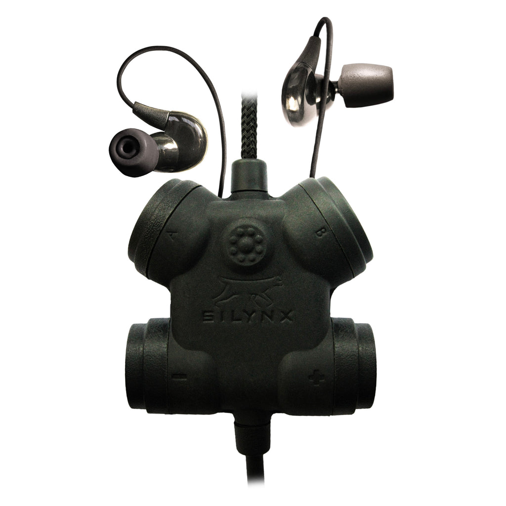 Clarus FX2 Tactical In-Ear Comms System CFX2ITNB-23 For Harris(L3Harris), M/A-Com: All P5300 P5400 P5500 P7300 Series, XG-15(P/MultiMode), XG-25(P/Pe/MultiMode), XG-75(P/Pe/MultiMode)