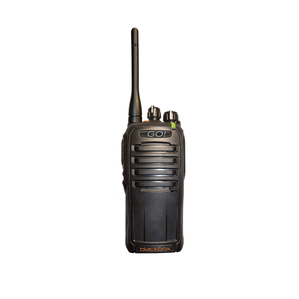 Digital & UHF Portable 2-Way Radio - GO! Portable Kit - Water Resistant Indoor/Outdoor Urban Professional Radio