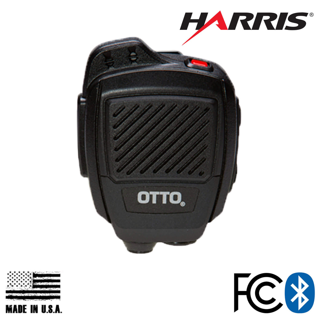 V2-R2BT53133-A V2-R2BT13133-A Bluetooth OTTO USA Made Speaker Mic For Harris: XG-100/P, XL-185/P/Pi, XL-200/P/Pi