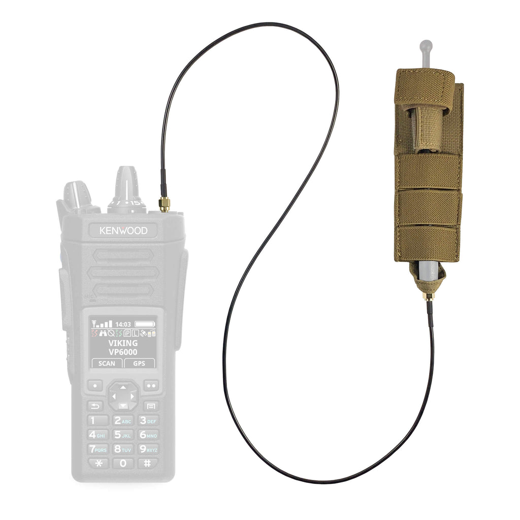 M.A.S.T Mast modular antenna system Tactical Antenna Relocation Kit - Kenwood TK & NX Series Radios NX-200, NX-210, NX-300, NX410, NX-411, NX-3200, NX3300, NX-5200, NX-5300, NX-5400, TK-190, TK-2140, TK-2180, TK-280, TK-290, TK-3140, TK-3148, TK-3180, TK-380, TK-385, TK-390, TK-480, TK-481, TK-5210, TK-5220, TK-5310, TK-5320, TK-5400 ARK-KEN