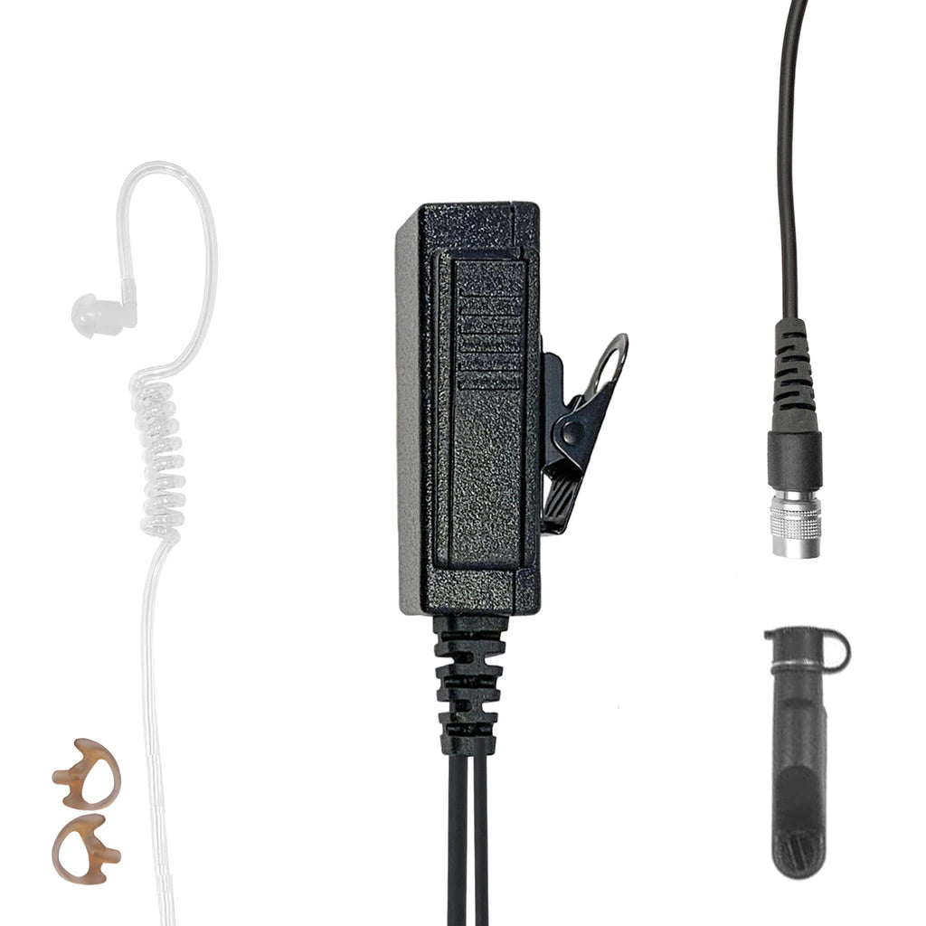 Mic & Earpiece Radio Kit - Quick Disconnect Harris/Tait TP3000/8000/9000 Series