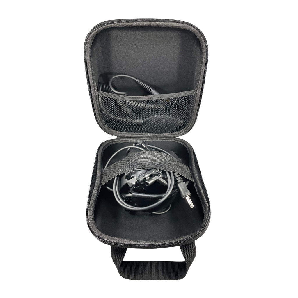 Tactical Radio Headset w/ Active Hearing Protection - PTH-V1-23 Material Comms PolTact Headset & Push To Talk(PTT) Adapter For EF Johnson: 5000, 5100, 8100, 51SL ES, 51 Fire ES, 51SL ES, 51LT ES, 7700, Ascend, AN/PRC127EFJ, VP400, VP600, VP900