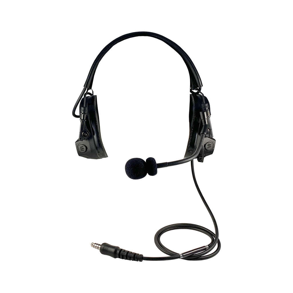 Tactical Radio Headset w/ Active Hearing Protection - Motorola: XTS Series, HT/JT1000, MT/MTS2000, MTX838/900/8000/9000, PR1500 & More