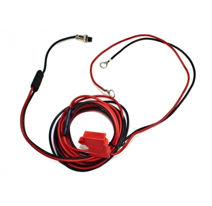 hard wired kit for radio battery charger