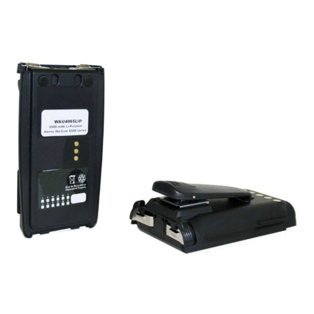WAU4065LIP Harris radio battery