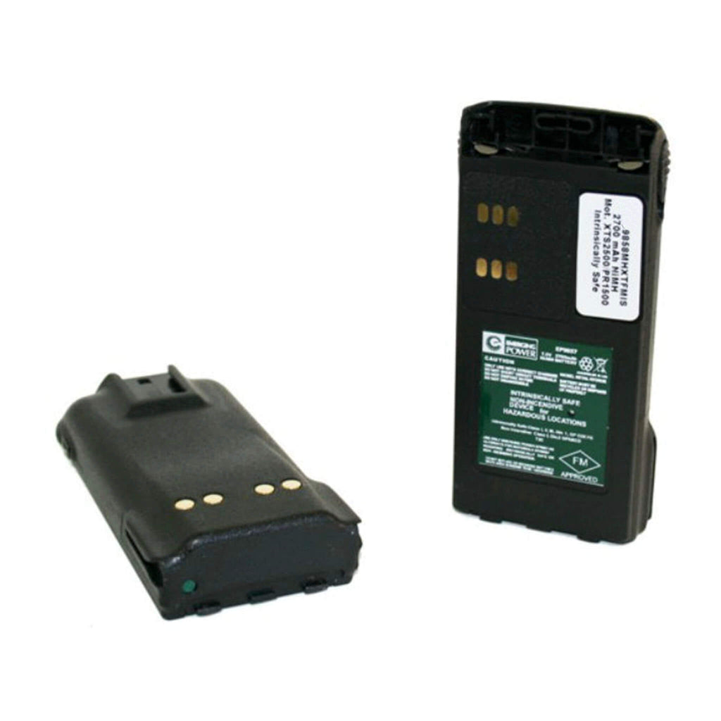WAU9858MHXTFMIS - Motorola Intrinsically Safe 7.5V, 2700mAh, NiMH Radio Battery- XTS1500, XTS2500, MT1500, PR1500