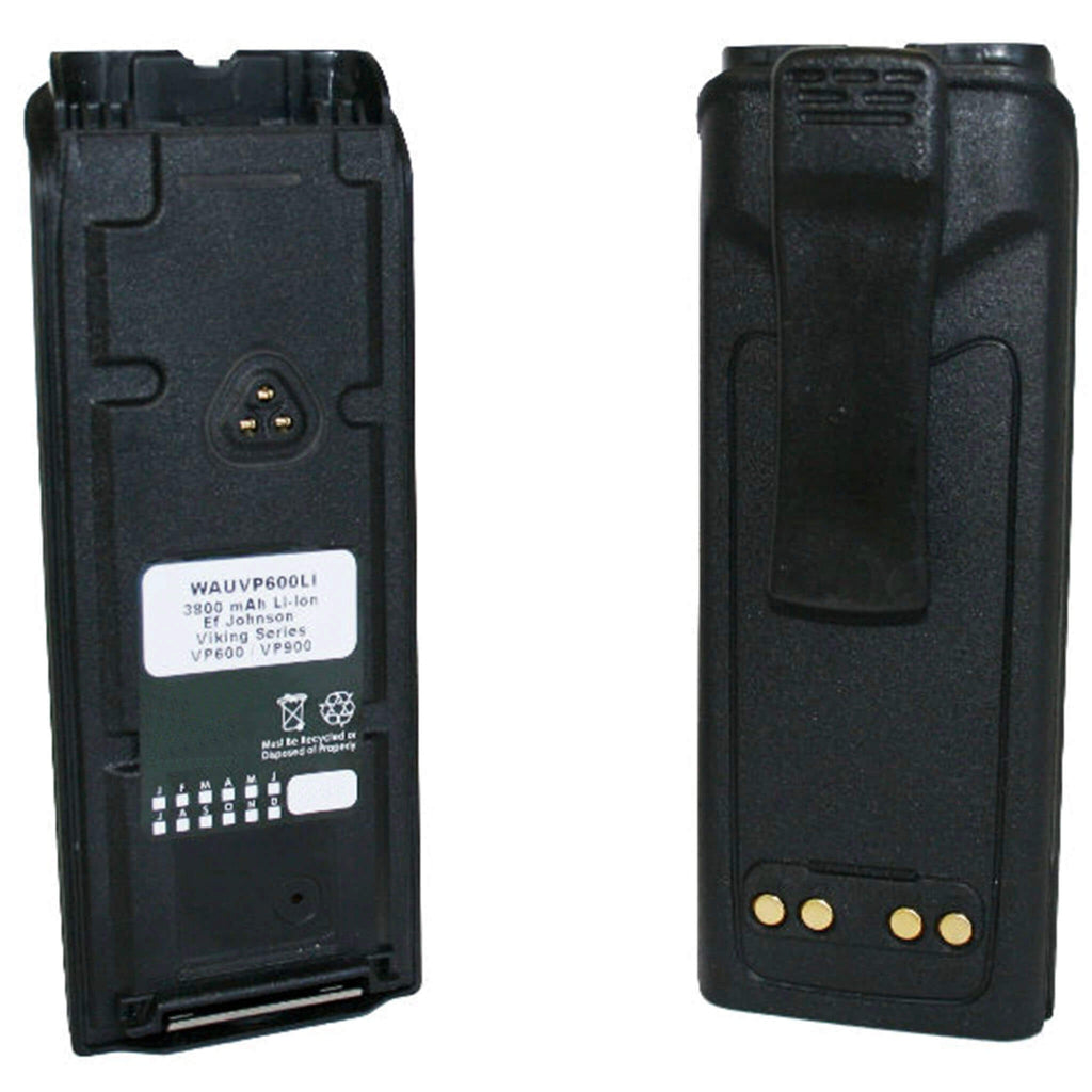 WAUVP600LI battery for ef johnson