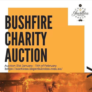 Young Jewellers Group Bushfire Charity Auction