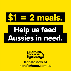 $5 from every DIY kit goes to OzHarvest