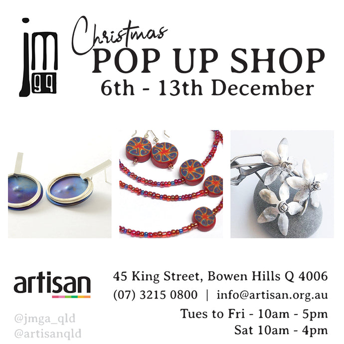 JMGQ Pop up shop at Artisan