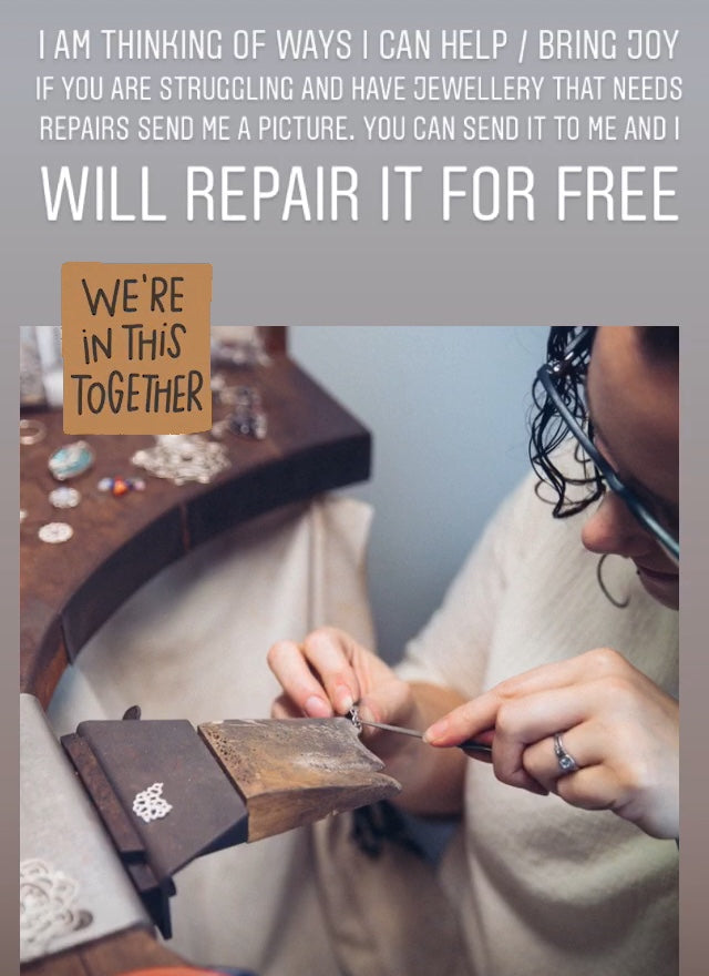 Repair your jewellery for free