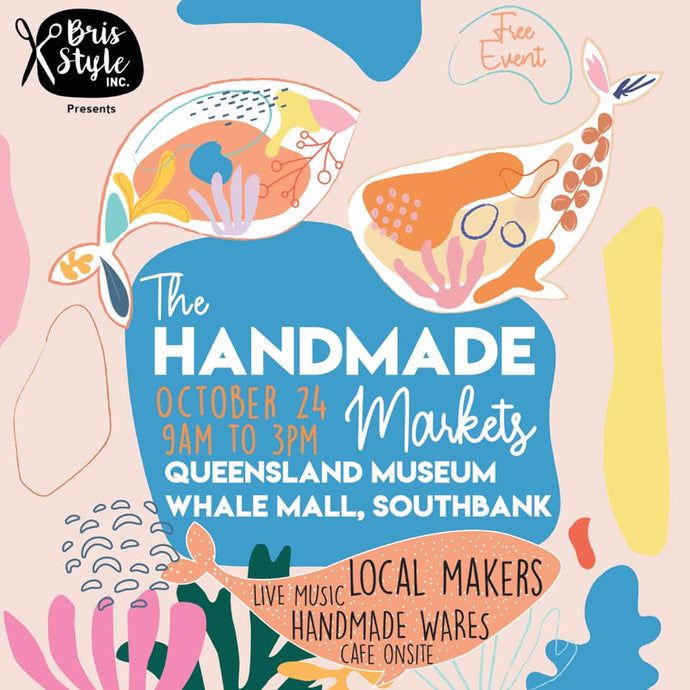 IN PERSON market! Queensland Museum 24th Oct