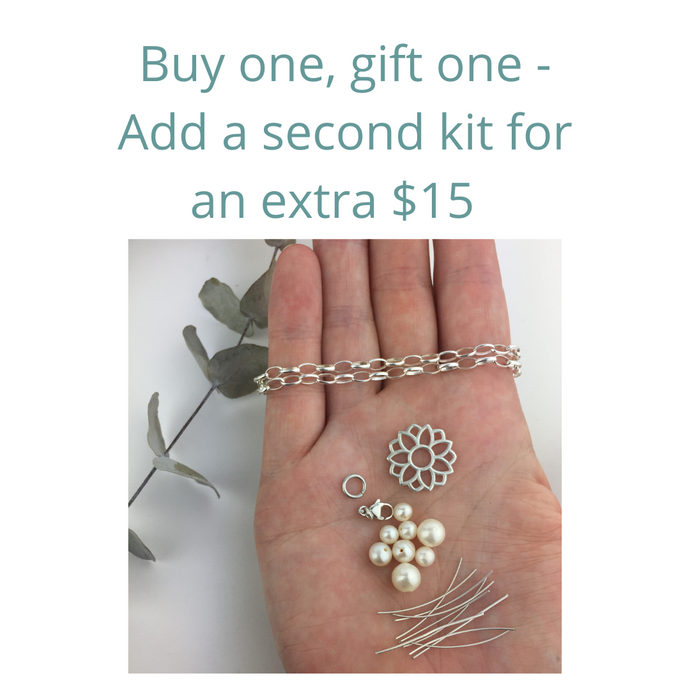 Buy one, gift one with my DIY bracelet kit.