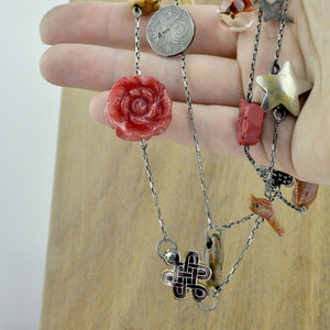 Redesign unworn pendants and treasures into a necklace!