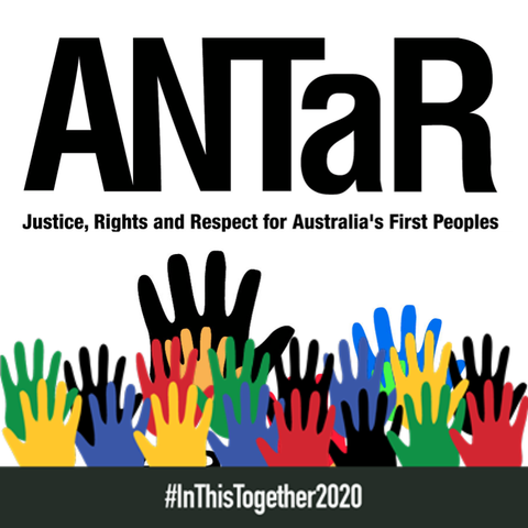 ANTaR logo - Australians for Native Title and Reconciliation