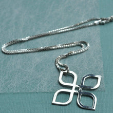 Silver Celtic Infinity Knot Necklace