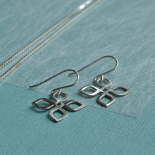 Celtic Silver Knot Earrings