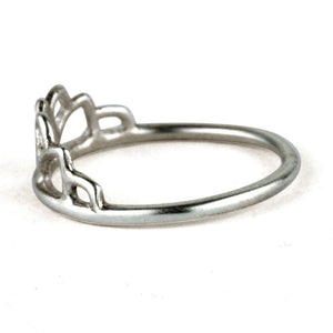 Platinum Tiara ring
