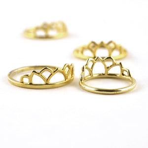 18ct Yellow Gold Tiara ring