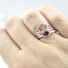 18ct Rose Gold Fitted Sun Ring.
