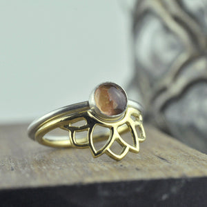 9ct Yellow Gold fitted Sun ring