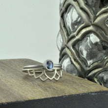 18ct White Gold Tiara Ring