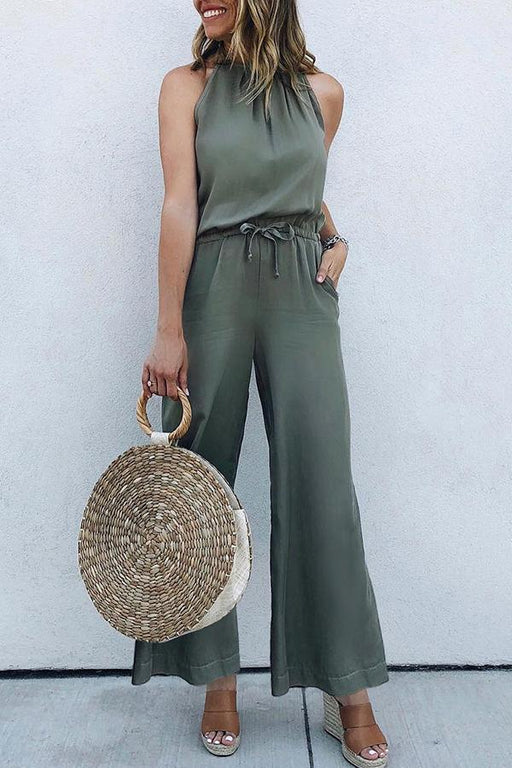 Sleeveless Breathable Sexy Jumpsuit