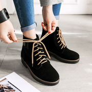Women Stylish Lace-Up Bow-Knot Ankle Boots