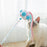 Pet Cat Toys Teaser Wand Toy Stick Feather Bell Interactive