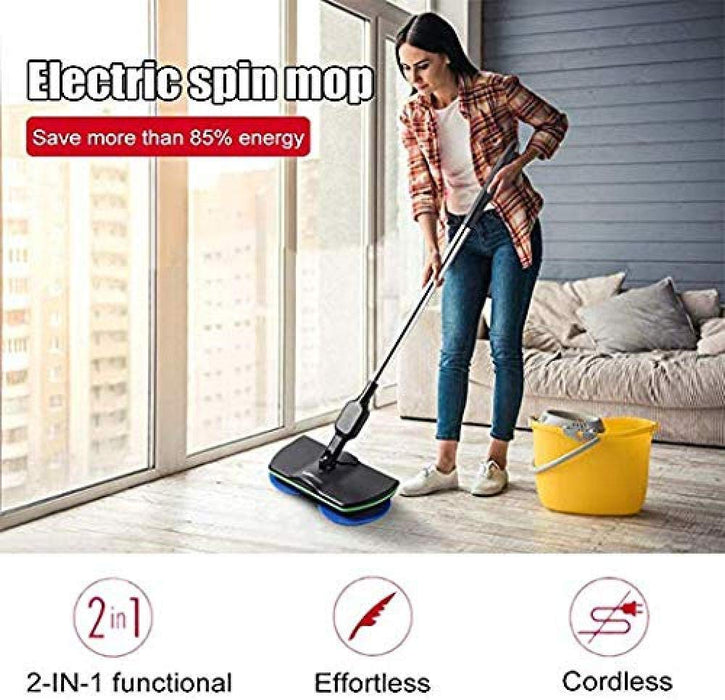 (50% OFF!)WIRELESS ELECTRIC RECHARGEABLE SPIN MOP