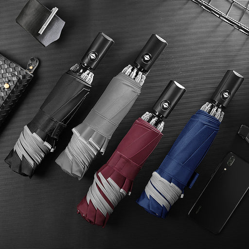 (50% OFF LAST DAY!) Fully Automatic Folding Business Umbrella