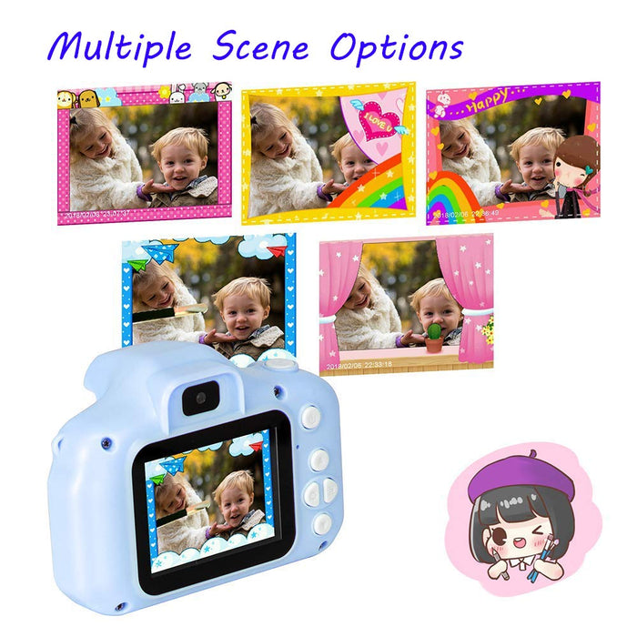 New cartoon children digital camera music video player mini SLR camera male and female student camera