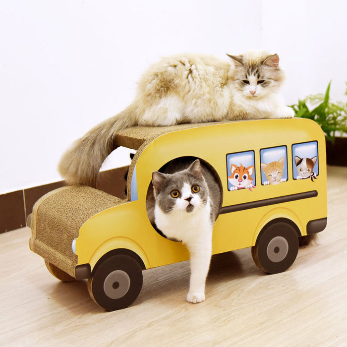 Cardboard Sofa Scrartcher Kitten House