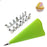16Pcs Set Silicone Piping Cream Pastry Bag