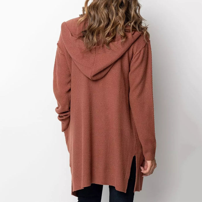 Loose Casual Long Knit Cardigan