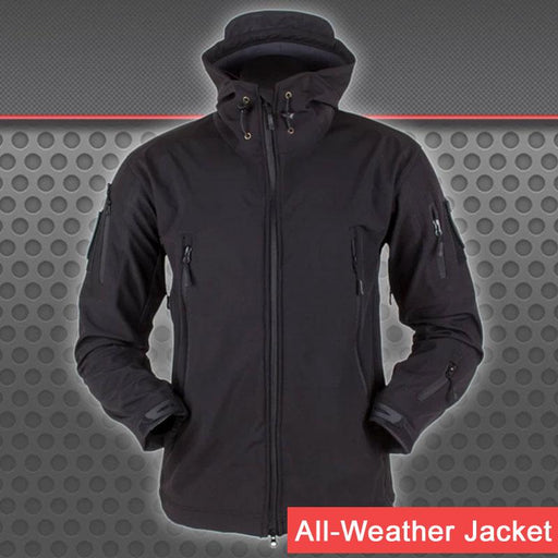 Indestructible Tactical Jacket for All-Weather