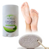 Organic Foot Balm and Natural Pumice Stone Set