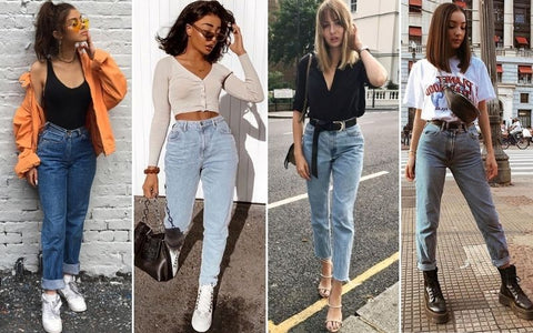 70s fashion and style with denim