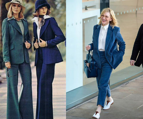 The Women's suites as a trend in the 70s