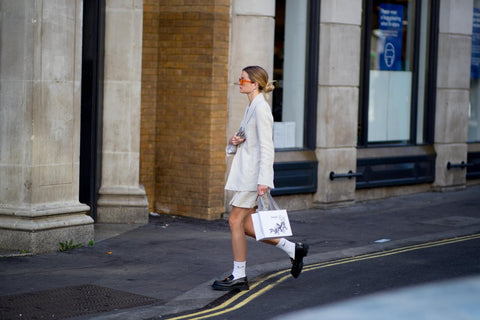 Dress like a Londoner with socks and loafers