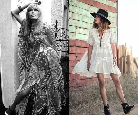 The Gypsy Style in the 70's