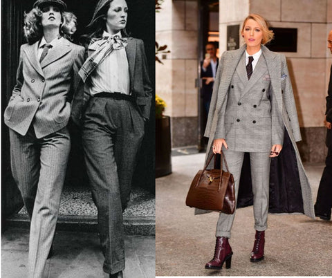 how women dressed in the 70s