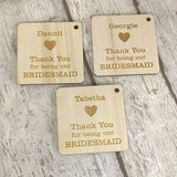 Bridesmaid Gift, Thank You Gift, Personalised Bridesmaid Gift, Wedding Thank You Gifts, Personalized Wedding Handmade Favor