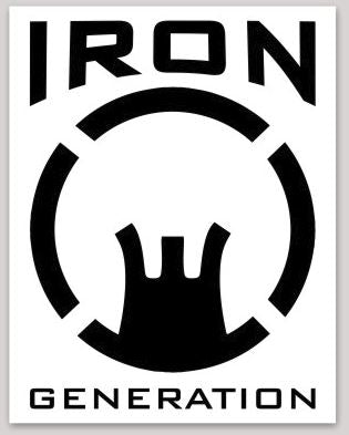 Iron Generation Sticker