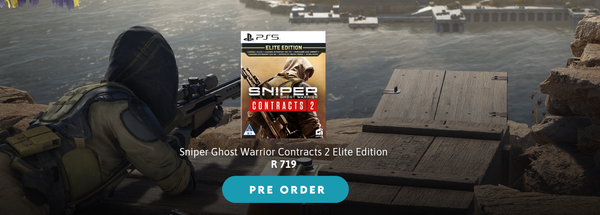 Pre-Order, Sniper Ghost, KOODOO.co.za, First Person Shooter
