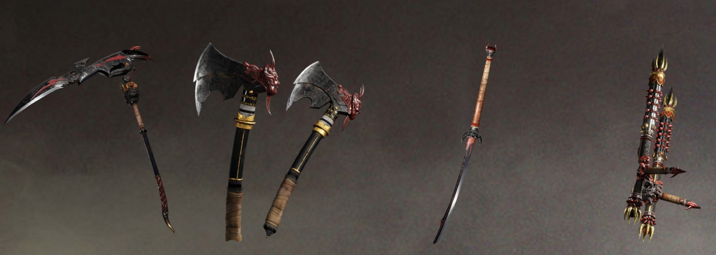 Nioh 2 Weapons