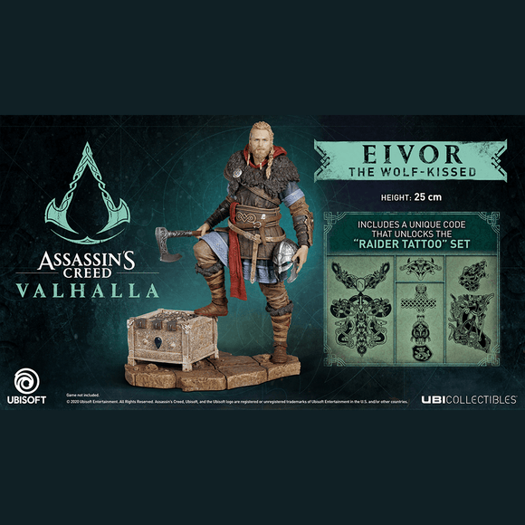 Assassin's Creed Valhalla Eivor Figurine Male - KOODOO