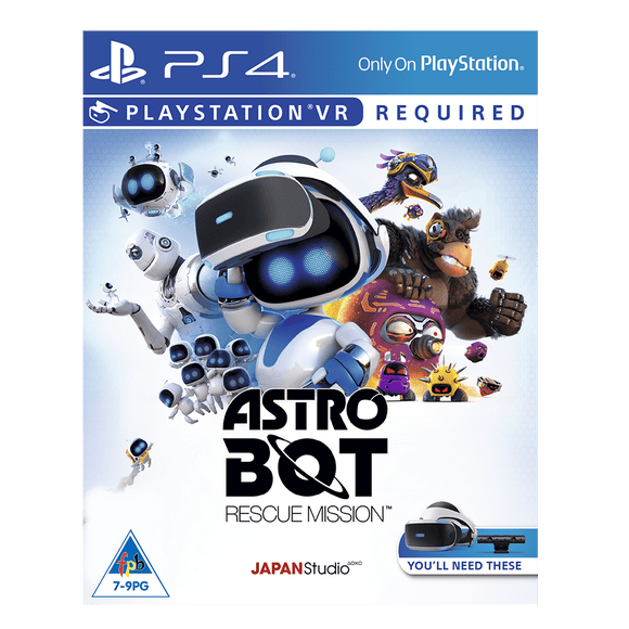 Astro Bot Rescue Mission (PSVR) PlayStation Virtual Reality Game KOODOO Online